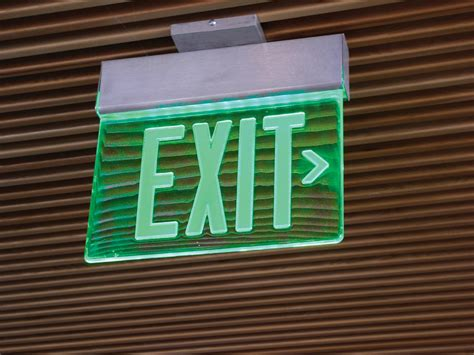 led light design captivating led exit lights exit
