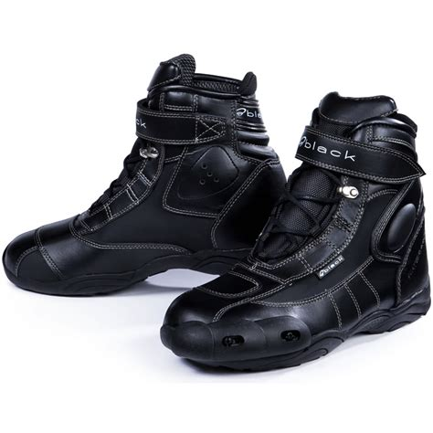 motorcycle boots shoes black fc tech short motorcycle paddock ankle motorbike