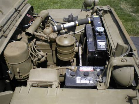wwii jeep engine 1942 mb granby ct sold ewillys