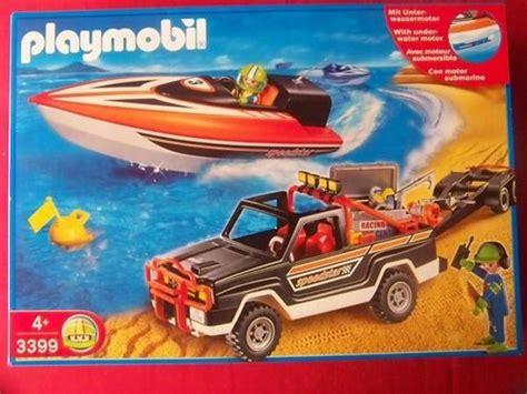 playmobil auto mit anhänger neues playmobil set auto mit bootsanh 228 nger 3399 in ubstadt weiher spielzeug lego playmobil