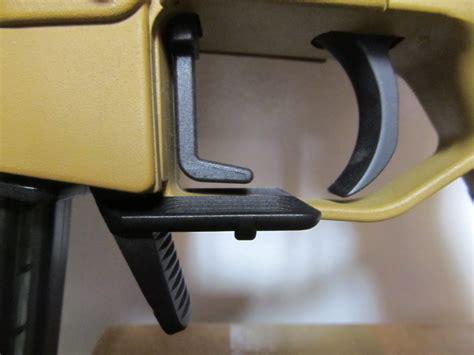 wtb hk sl  oversized extended mag release  bolt hold open lever extended