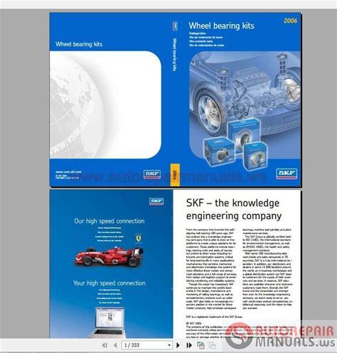 catalog skf wheel bearings for passenger cars auto repair manual forum heavy equipment