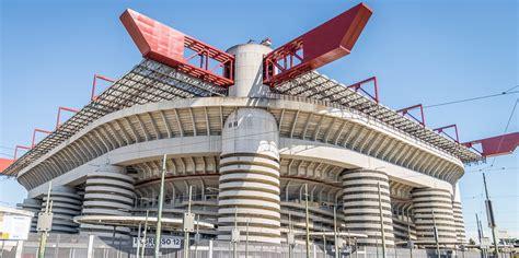 Ac Milan San Siro T Shirt ac milan inter milan stadio san siro stadium guide