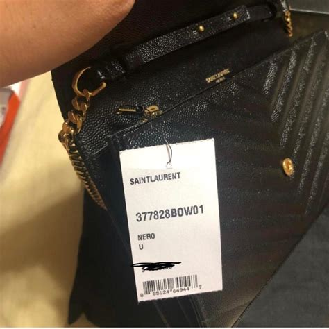 saint laurent chain wallet monogram classic medium matelasse woc ysl gold logo black leather
