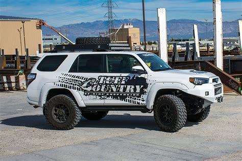 toyota 4runner lifted 2010 2018 toyota 4runner 4 quot lift kit by tuff country