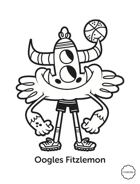champ coloring sheets gonoodle