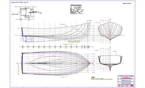 Boat Drawings Plans by Wooden Lobster Boat Plans Ciiiips