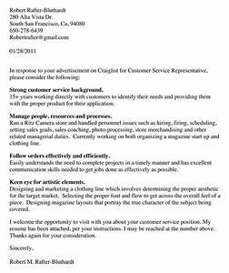 resume cover letter customer servicejob interview cover With covering letter for job interview
