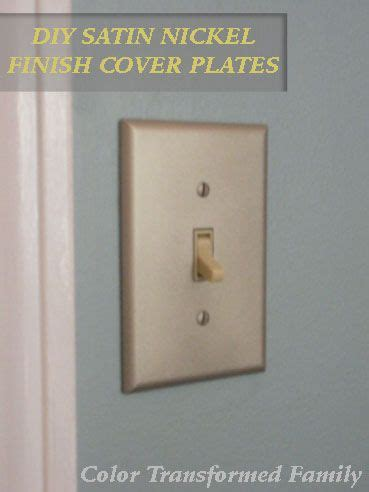 interior brushed nickel switch plates  outlet