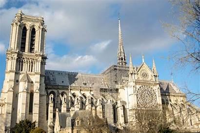 Dame Notre Cathedral Paris Fire 1200