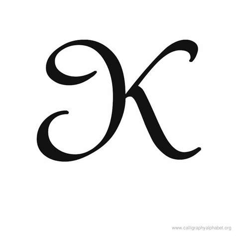 fancy letter k calligraphy alphabet k alphabet k calligraphy sle styles