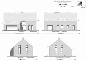 batiplan plans pour permis de construire exemple de With exemple plan de maison 0 plans et permis de construire un exemple de permis de