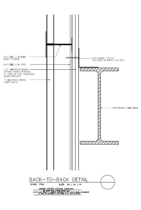 USG Design Studio | 09 21 16.23.371 Shaft Wall Horizontal