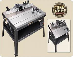 MLCS Heavyweight and Precision Router Tables