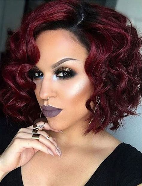 and easy hair colors 2018 curly bob hairstyles for 17 hair