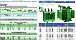 Power And Distribution Transformers Sizing Calculations  U2013 Part Four