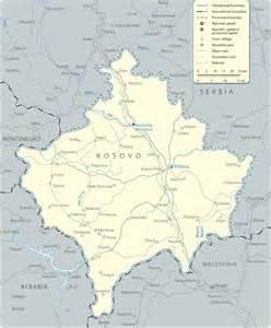 Kosovo On Europe Map