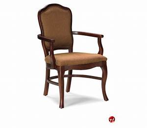 The Office Leader Fairfield 6030 Guest Side Dining Arm Chair