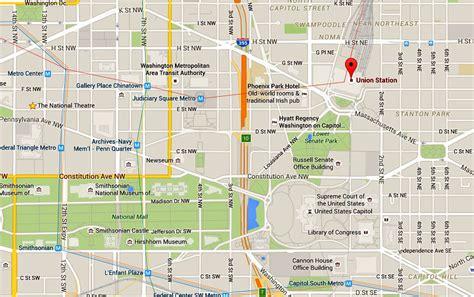 union station map  directions washington dc