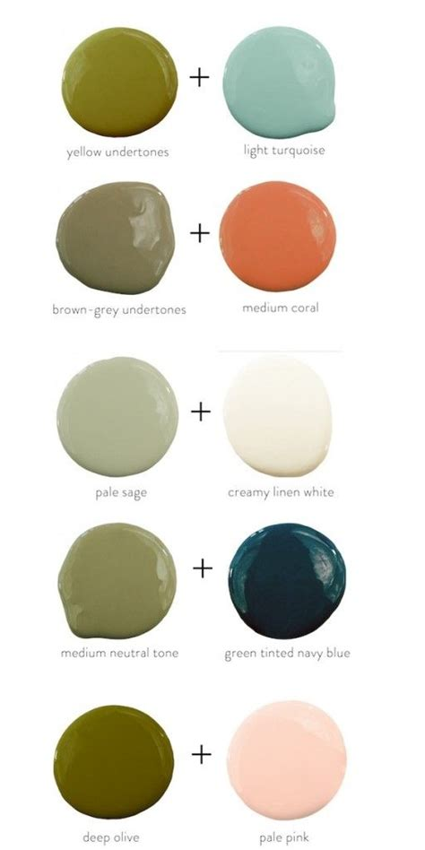 colors that pair well with olive green details