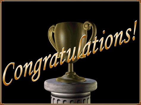 Image result for congratulations trophy