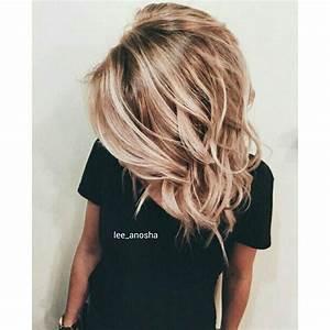 Meche Blond Doré : meches dorees fabulous coiffure avec mche de couleur with ~ Nature-et-papiers.com Idées de Décoration