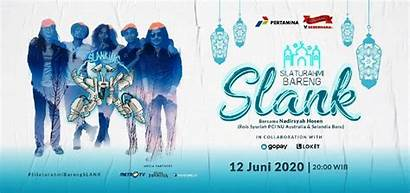 Slank Konser Poster Normal Bareng Silaturahmi Sambut