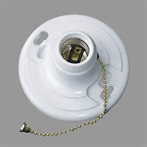 nicor lighting 18015 keyless bakelite lholder pull