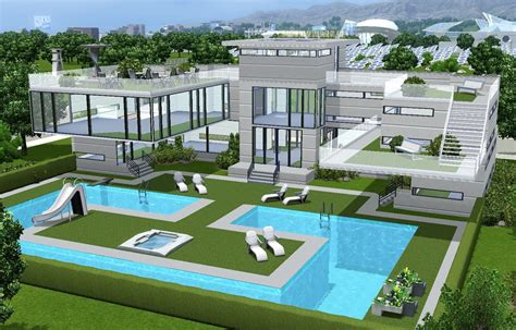 Moderne Häuser Sims 3 by Must Gorgeous Sims 3 Houses And Villas S I M S