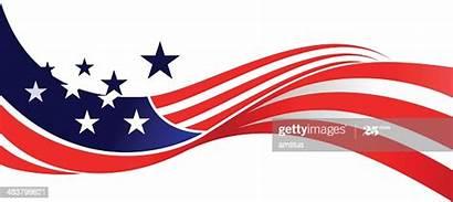 Flag Waving Vector American Usa Patriotic Clip