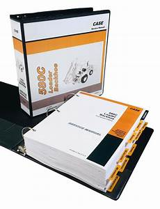 Case 580c Backhoe Loader Service Manual Repair Shop Book