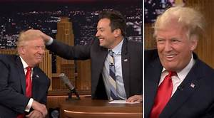 Jimmy Fallon Just Destroyed Trump's Signature Hair In ...