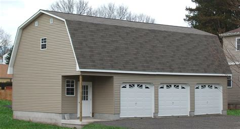 car garage for detached attic three car garage sheds unlimited