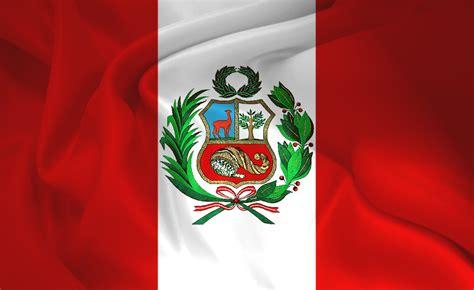bandera de peru world of map