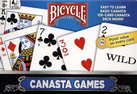 canasta and variations of the card