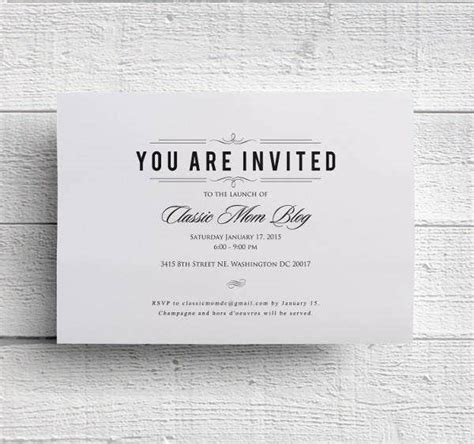 56+ Dinner Invitation Templates in PSD Free & Premium