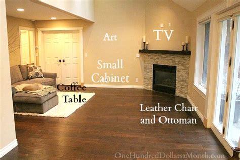 ugly corner fireplace remodel       dollars  month