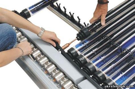 Солнечный коллектор с тепловыми вакуумными трубами.. статьи компании тоо greendem