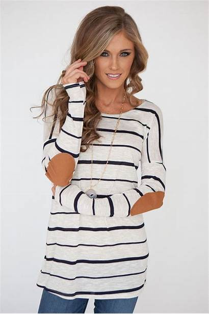 Magnolia Boutique Casual Outfits Tops Tunic Patch