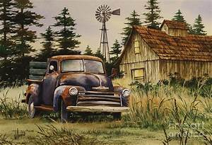 Classic Country Painting by James Williamson