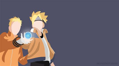 the minimalist movie naruto and boruto rasengan minimalis wallpaper 42201