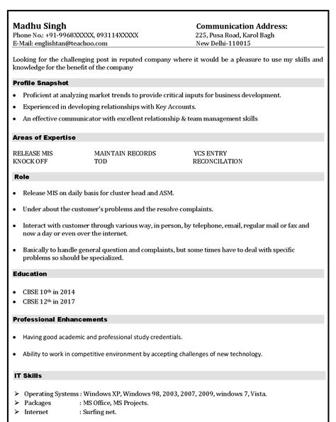 How To Write A Proper Resume Exle by Mistakes Make In Resume Resume