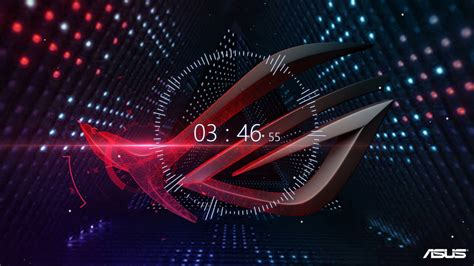 4K Wallpaper Engine with Audio Visualizer ft Asus ROG