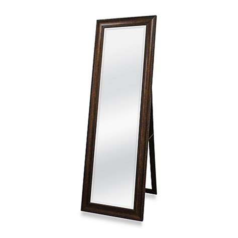 floor mirror easel buy golden bronze 20 inch x 60 inch floor mirror with easel from bed bath beyond