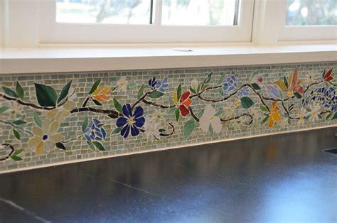 tile borders for kitchen backsplash border tiles designer glass mosaics