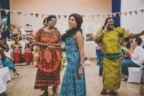 colourful zambian kitchen party love  dress uk