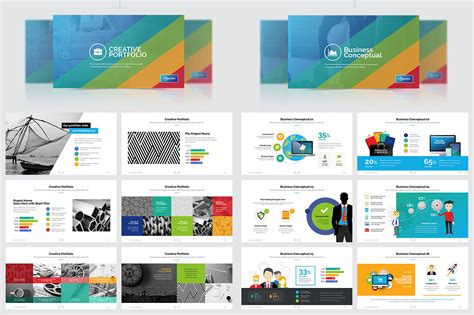 business plan marketing powerpoint template