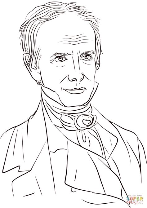 Coloring Drawing by Henry Clay Coloring Page Free Printable Coloring Pages