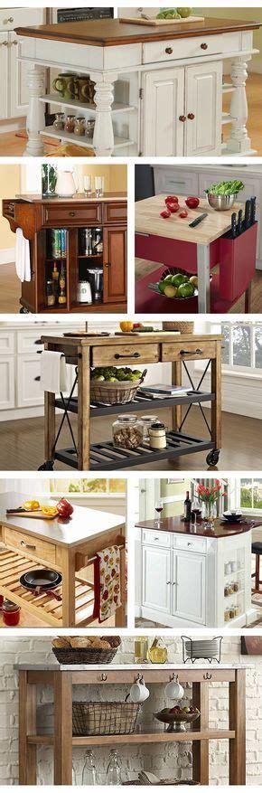 designs for kitchen cabinets best 25 portable kitchen island ideas on 6671