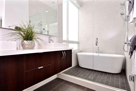 Modern Bathroom Designs For Small Spaces White Finish